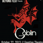 Goblin En Vivo!!! Otra razón para ir al Beyond Fest!