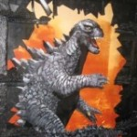 Godzilla All Art Attack! Exhibición de Arte Kaiju!