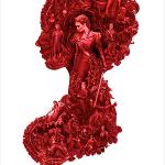 """Nuevo poster coquetón de """"Pride+Prejudice+Zombies""""."""