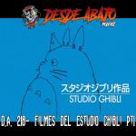 D.A. 218- Filmes del estudio Ghibli Pt1