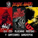 D.A. 255- Máscaras Poseidas y Confesiones Sangrientas